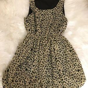 Rue21 Size Small Sleeveless Dress Leopard print